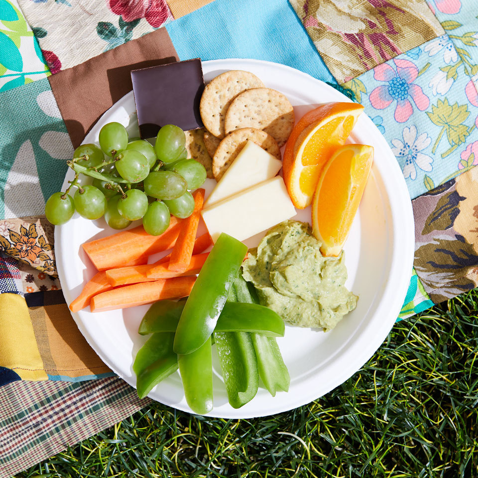 Fruit, Veggie & Cheese Plate Victoria Seaver, M.S., R.D.