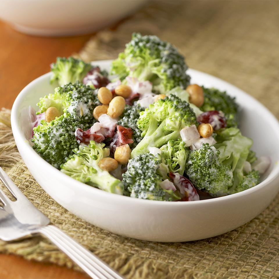 Gingered Lemon Broccoli Salad Diabetic Living Magazine