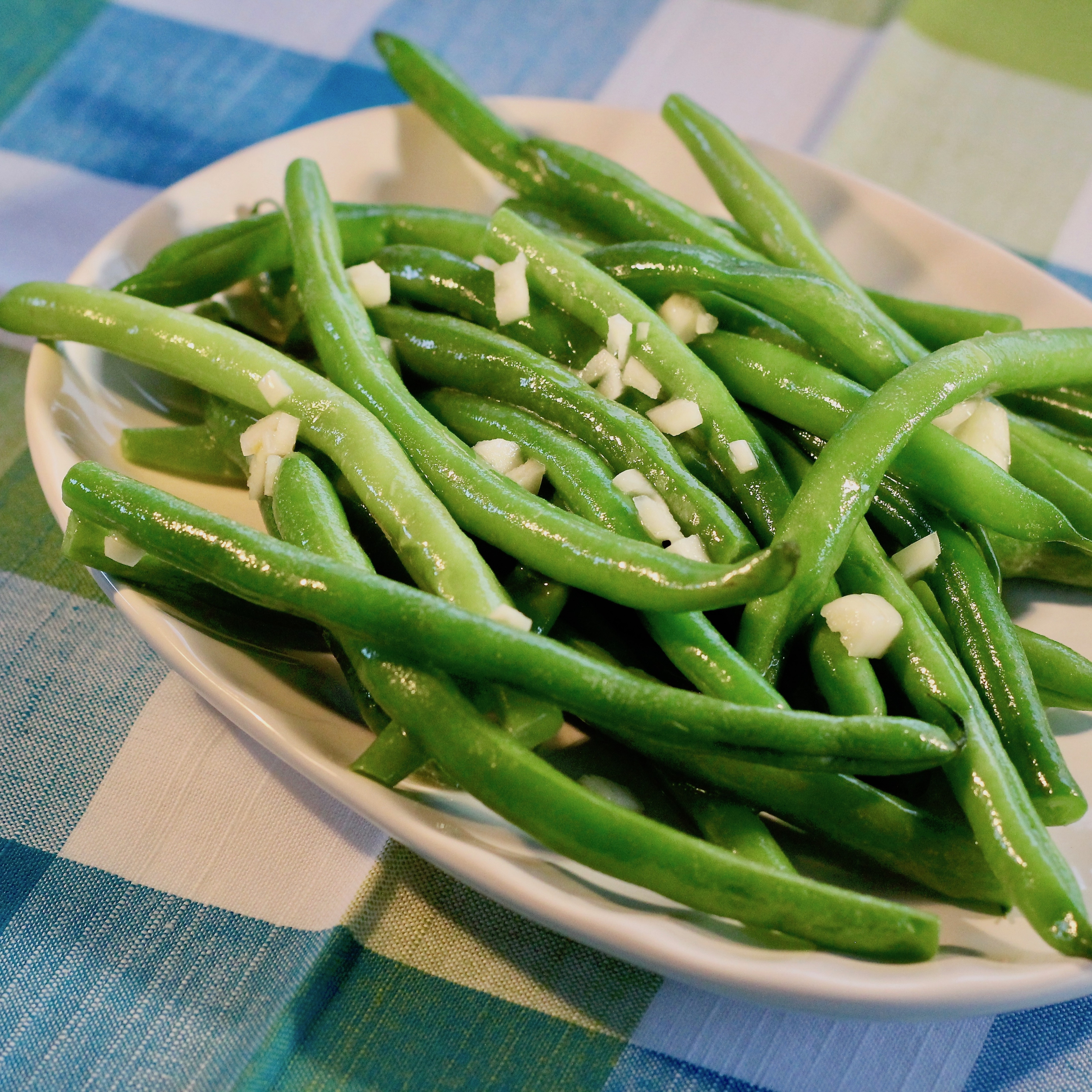Deluxe Garlic Green Beans Chelsey Carr