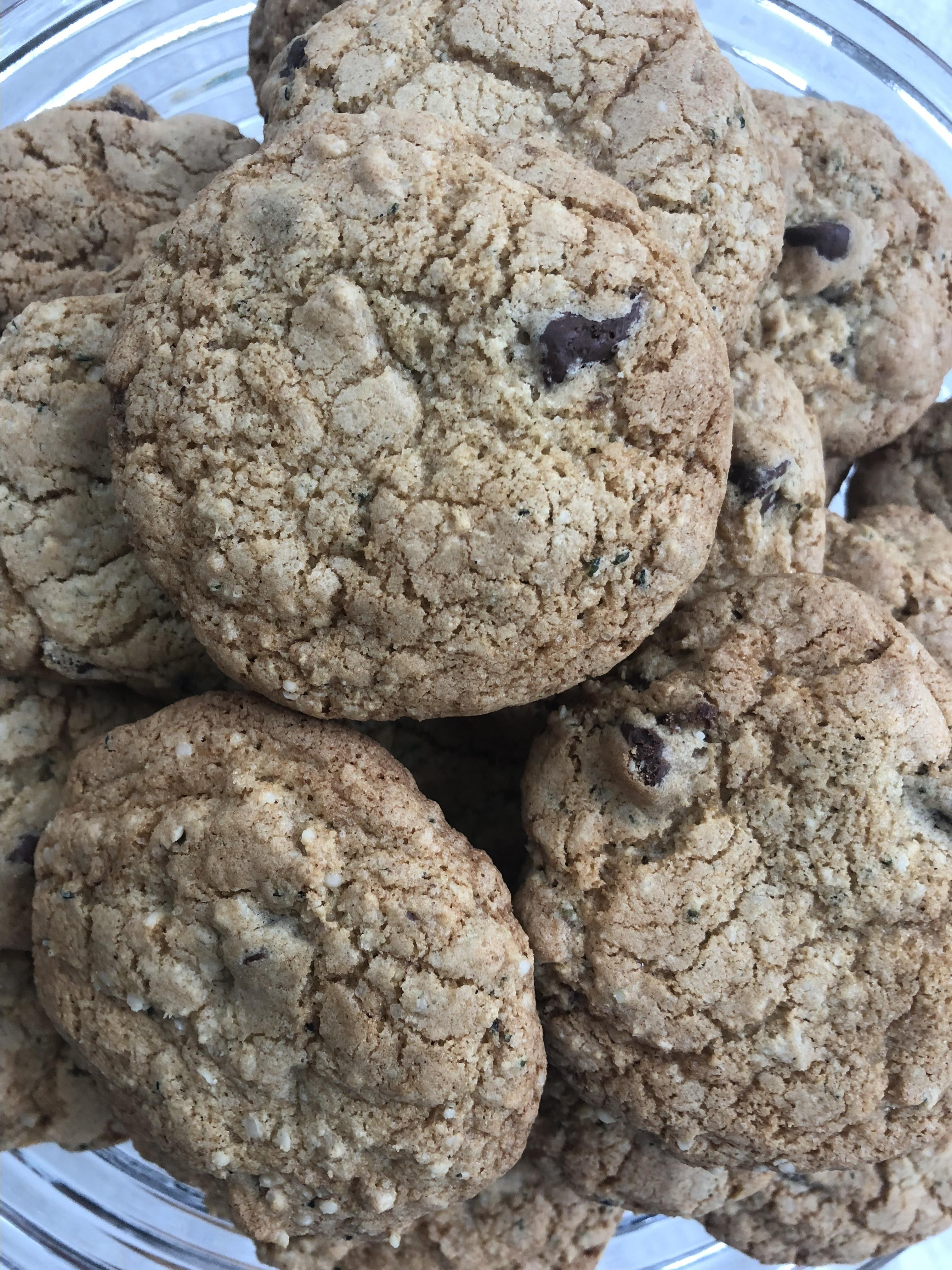 Gluten-Free Chocolate Chip Hemp Seed Cookies Recipe ...