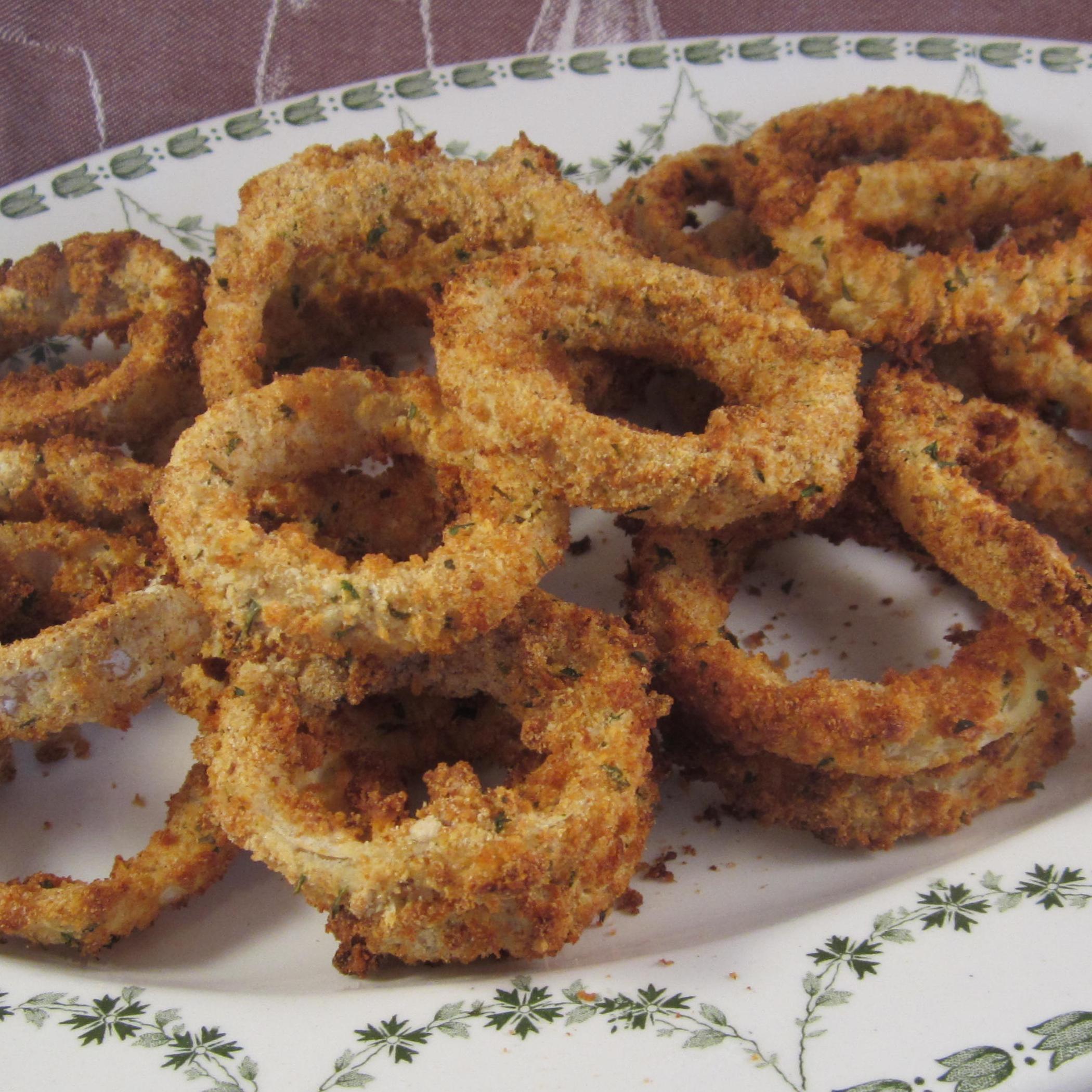 Air Fried Onion Rings Recipe Allrecipes
