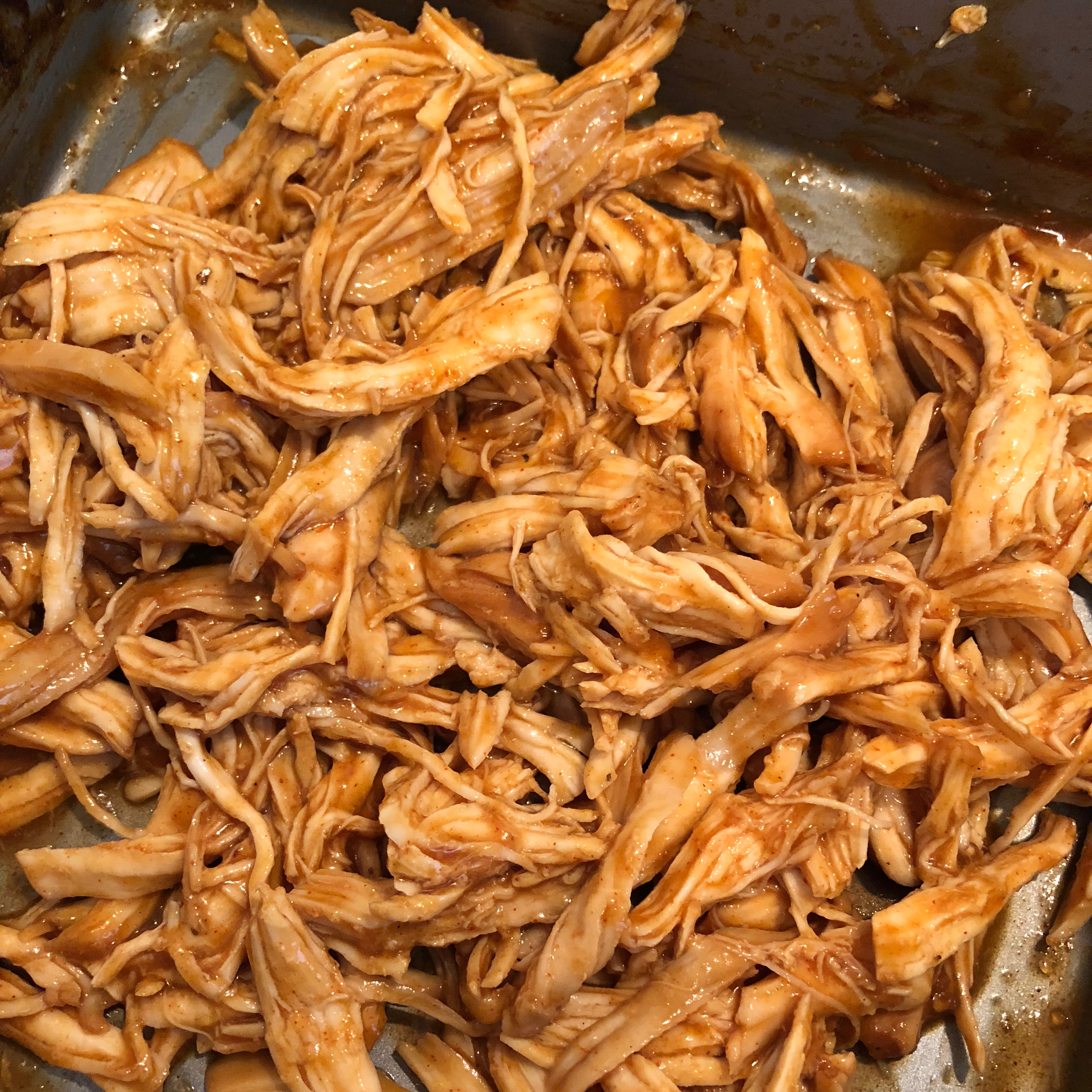 Baked Chicken In a Sweet BBQ Sauce elvia ayala