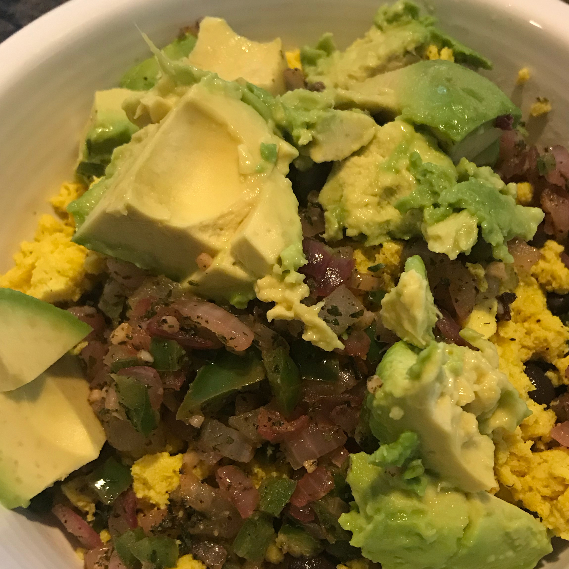 Ultimate Tofu Breakfast Burrito Bowls