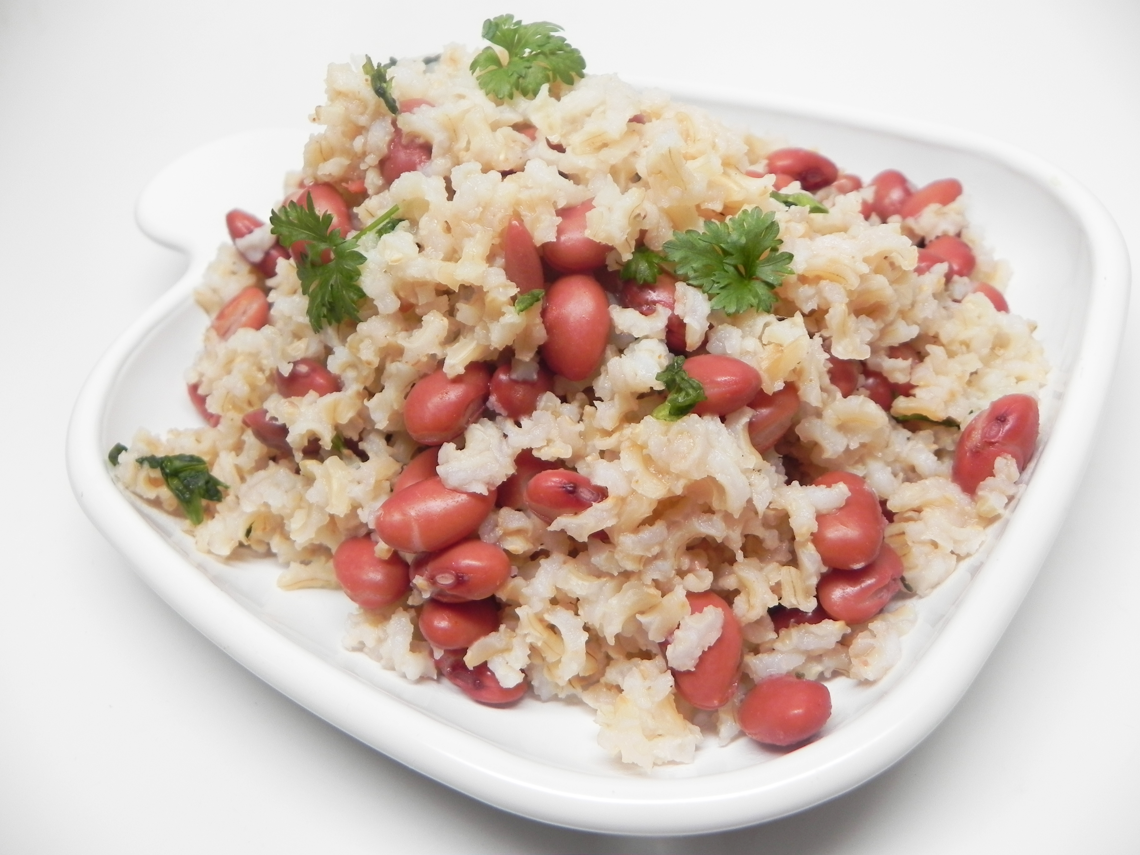 Cajun Meatless Red Beans and Brown Rice