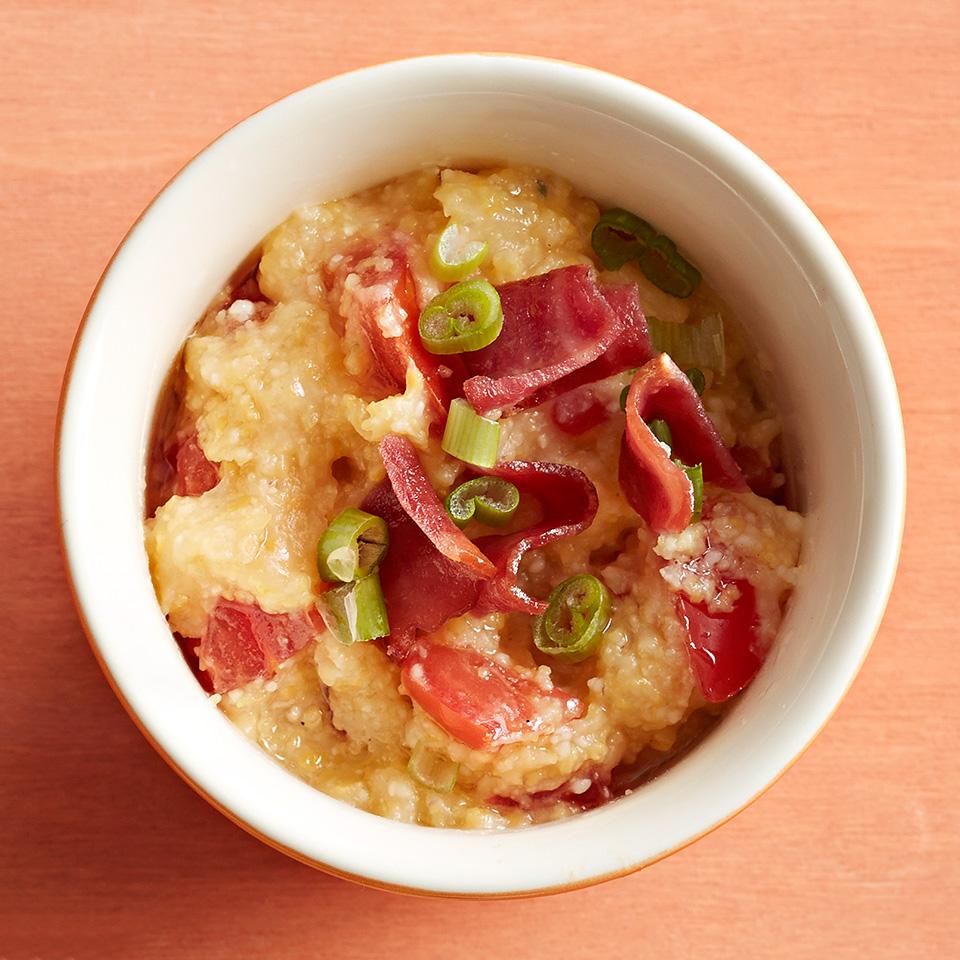 Bacon-Tomato Polenta Diabetic Living Magazine