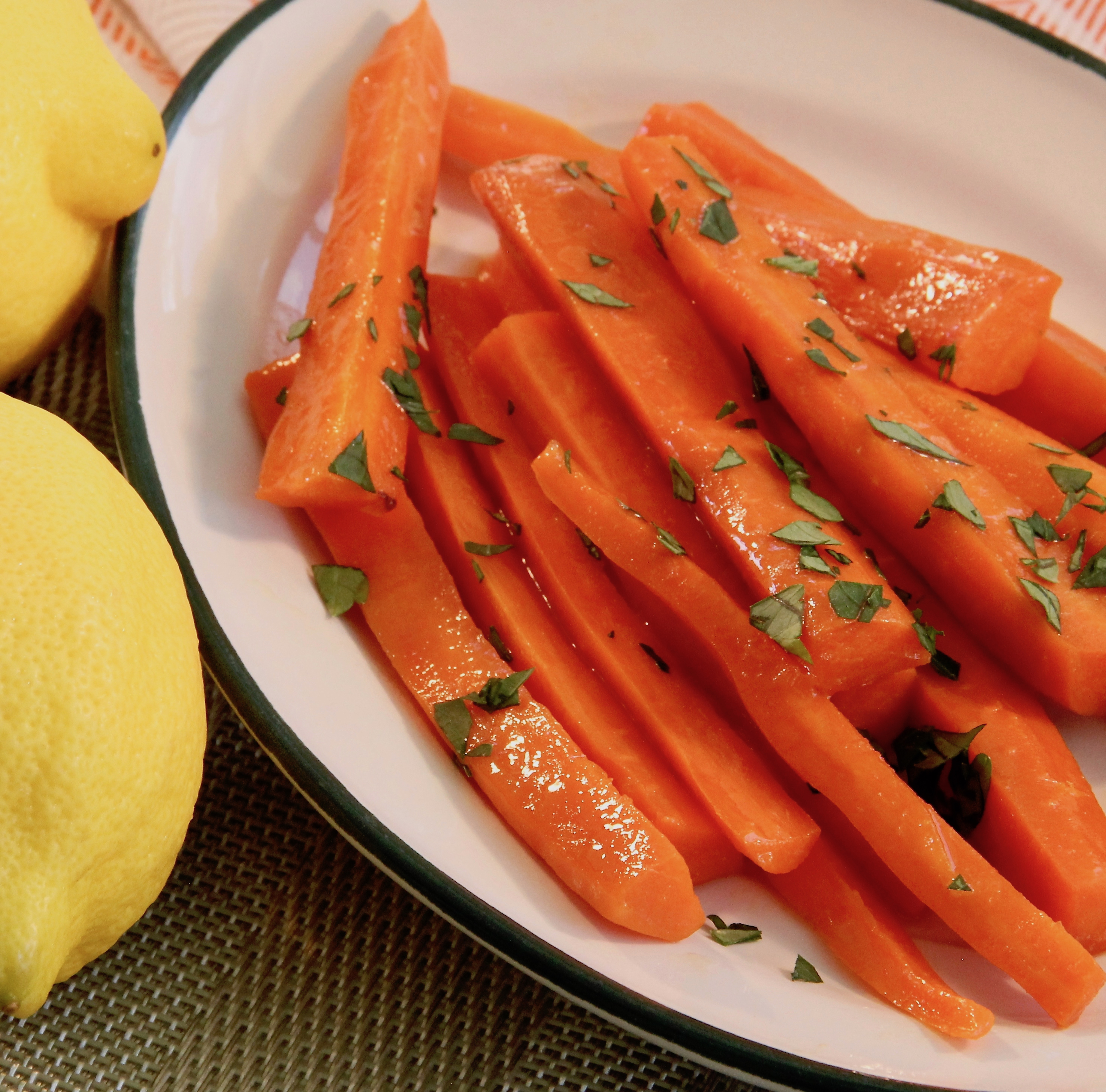 Lemon-Glazed Carrots