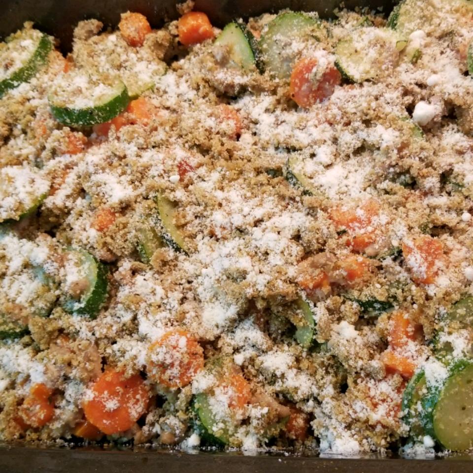 Carrot Zucchini Casserole Elizabeth