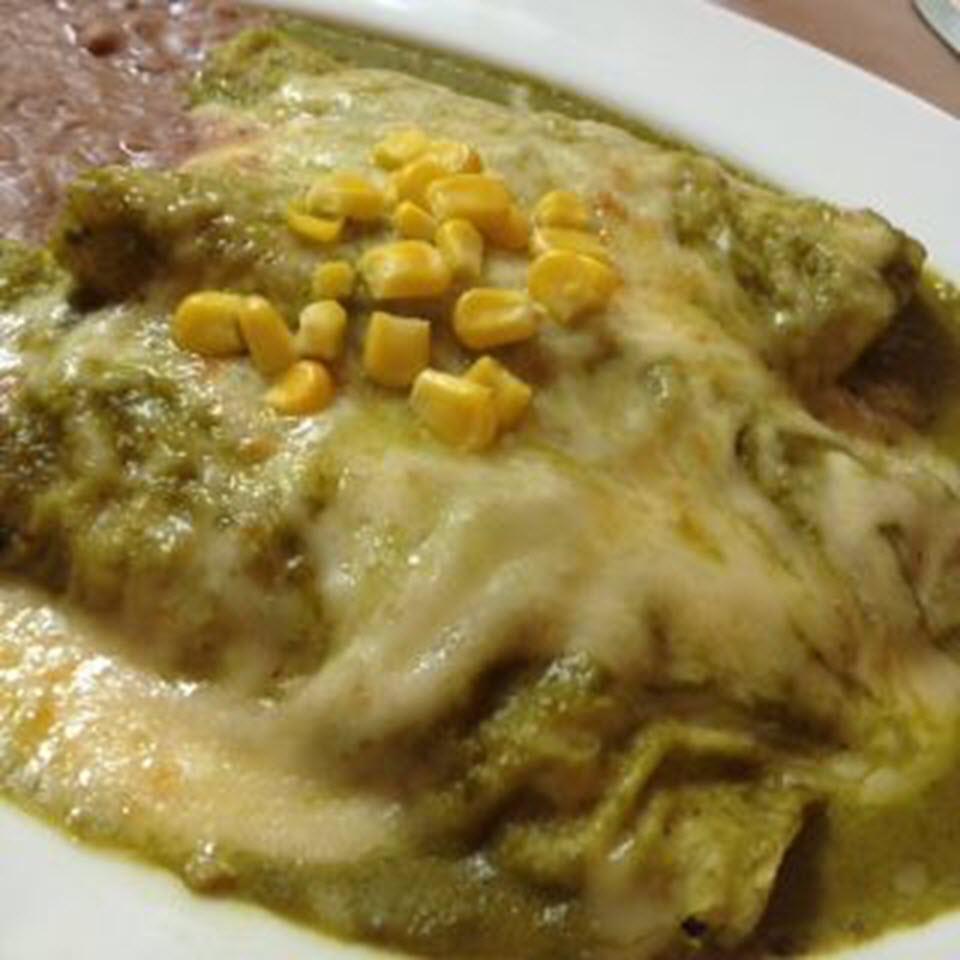 Mexican Enchiladas Suizas gema