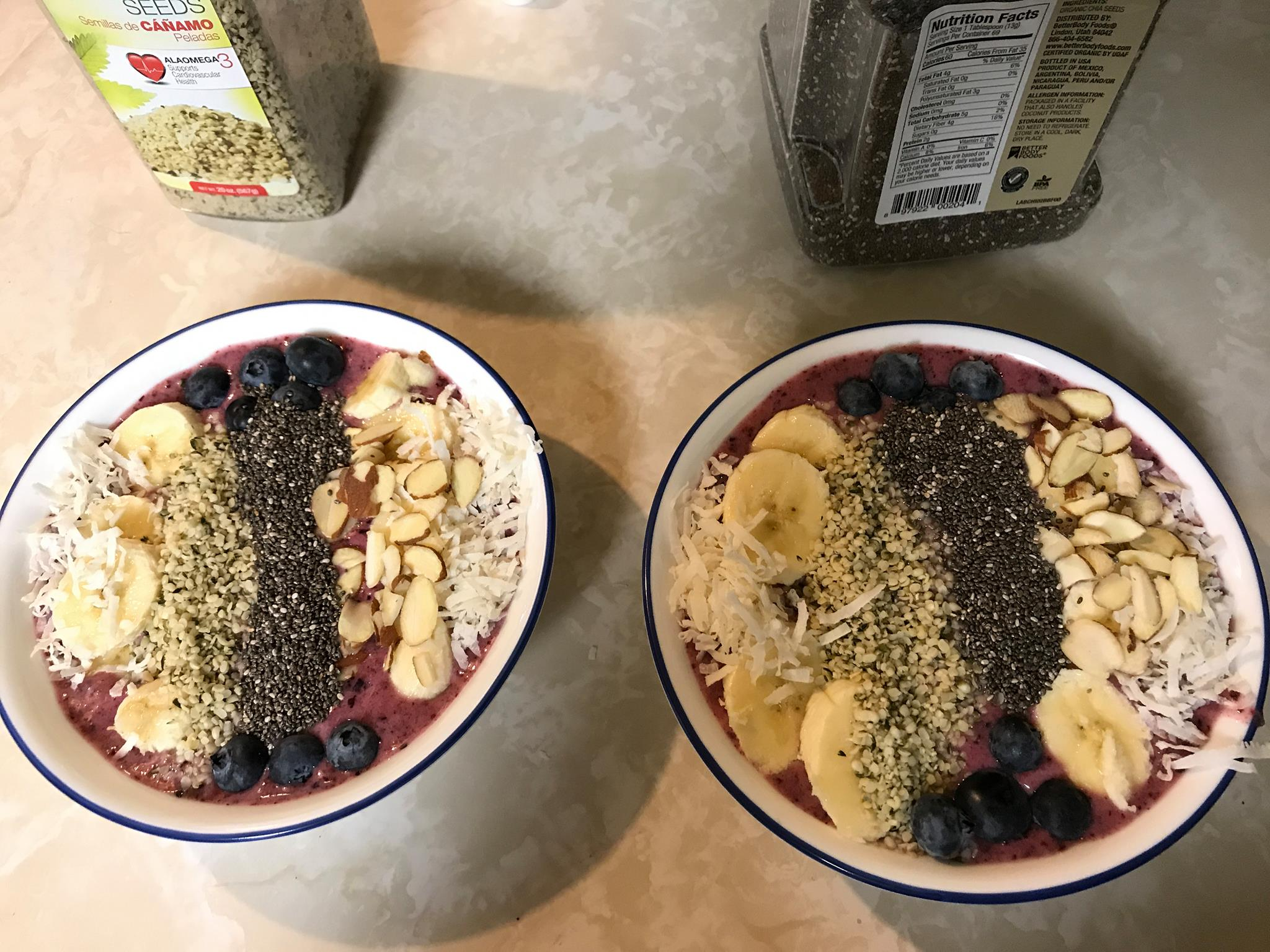 Blueberry Smoothie Bowl Caltrops
