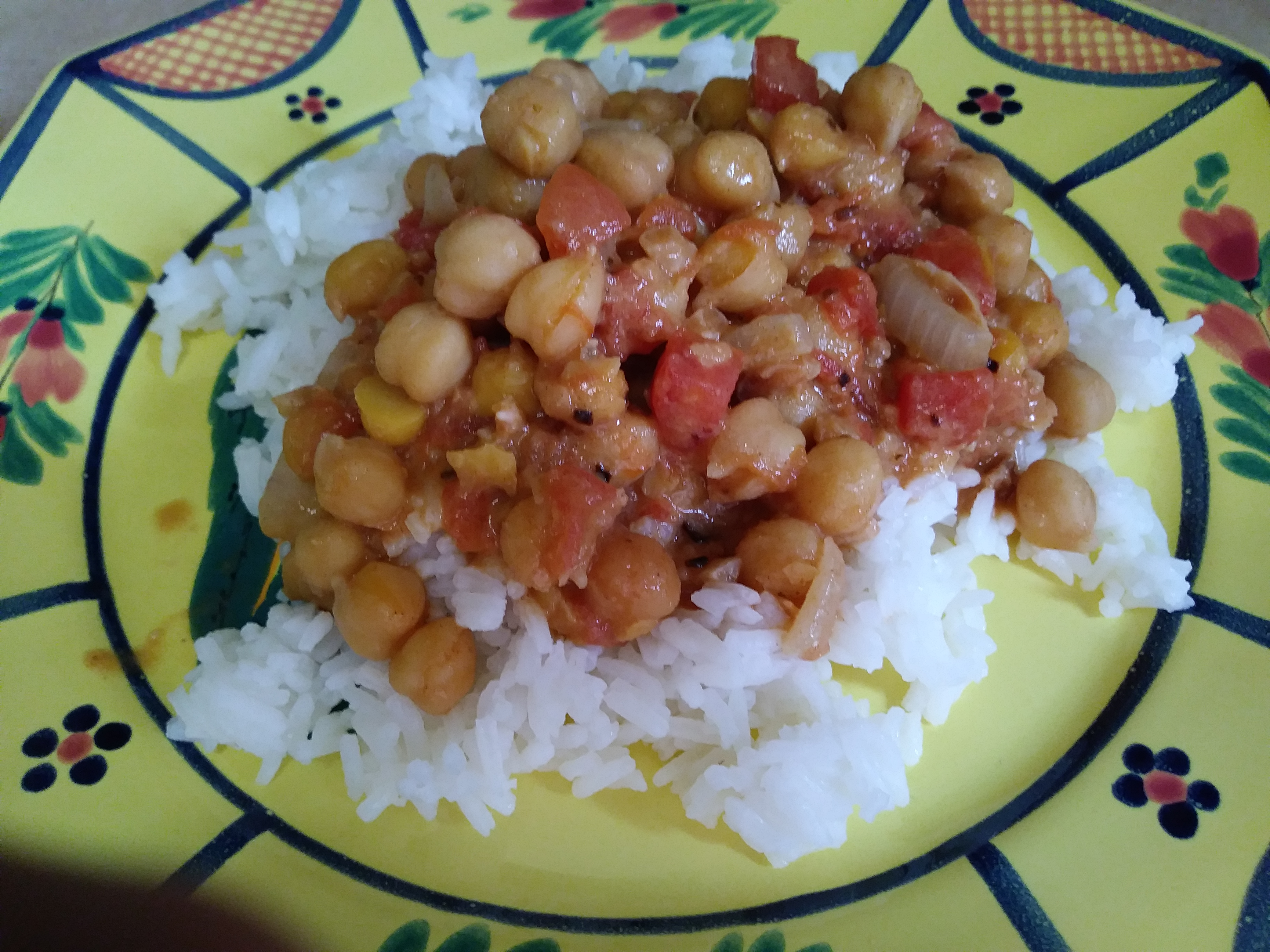 Peanut-Ginger Chickpea Curry Henry Nelson