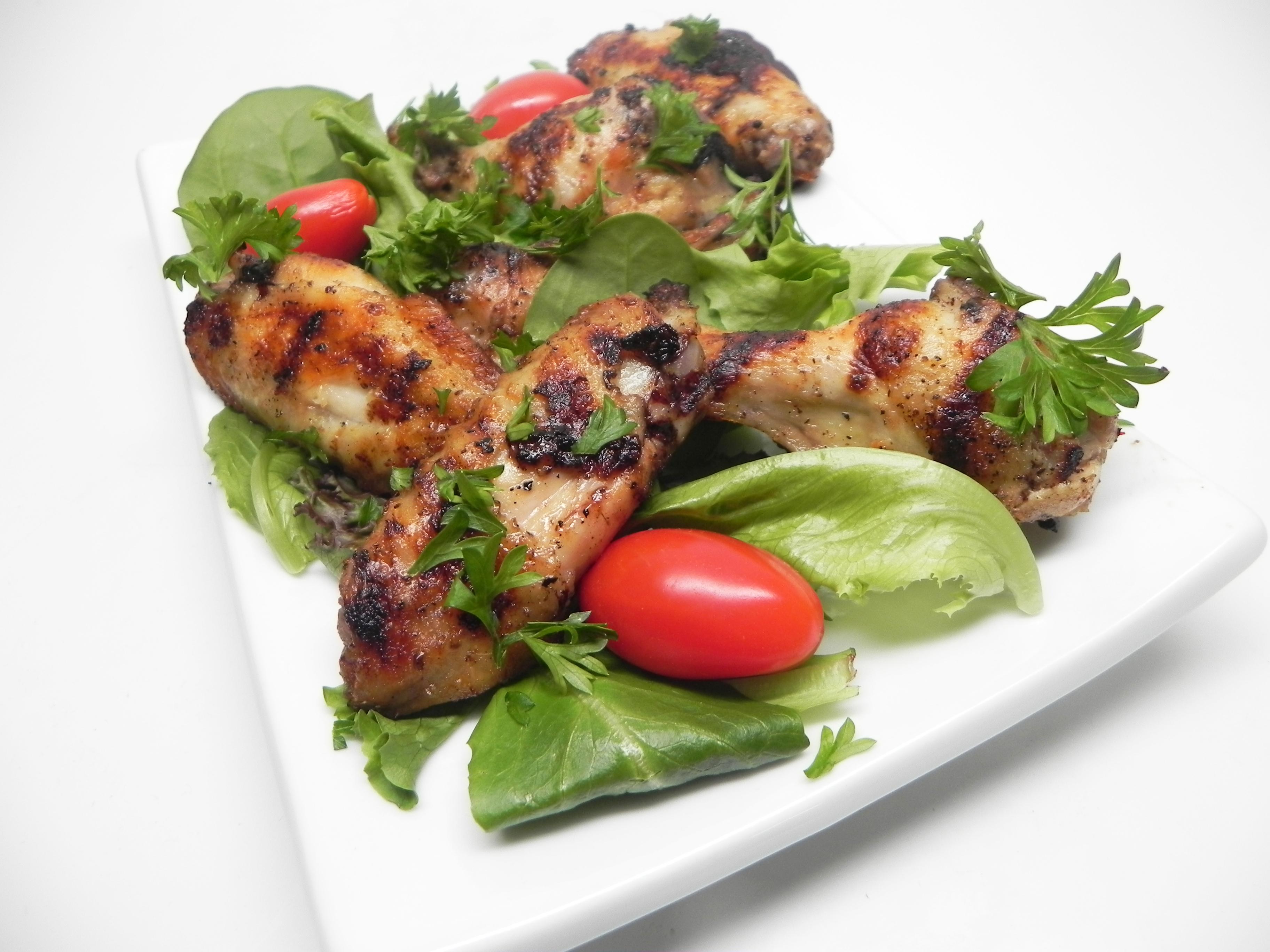Lemon and Garlic Chicken Wings Brigitte