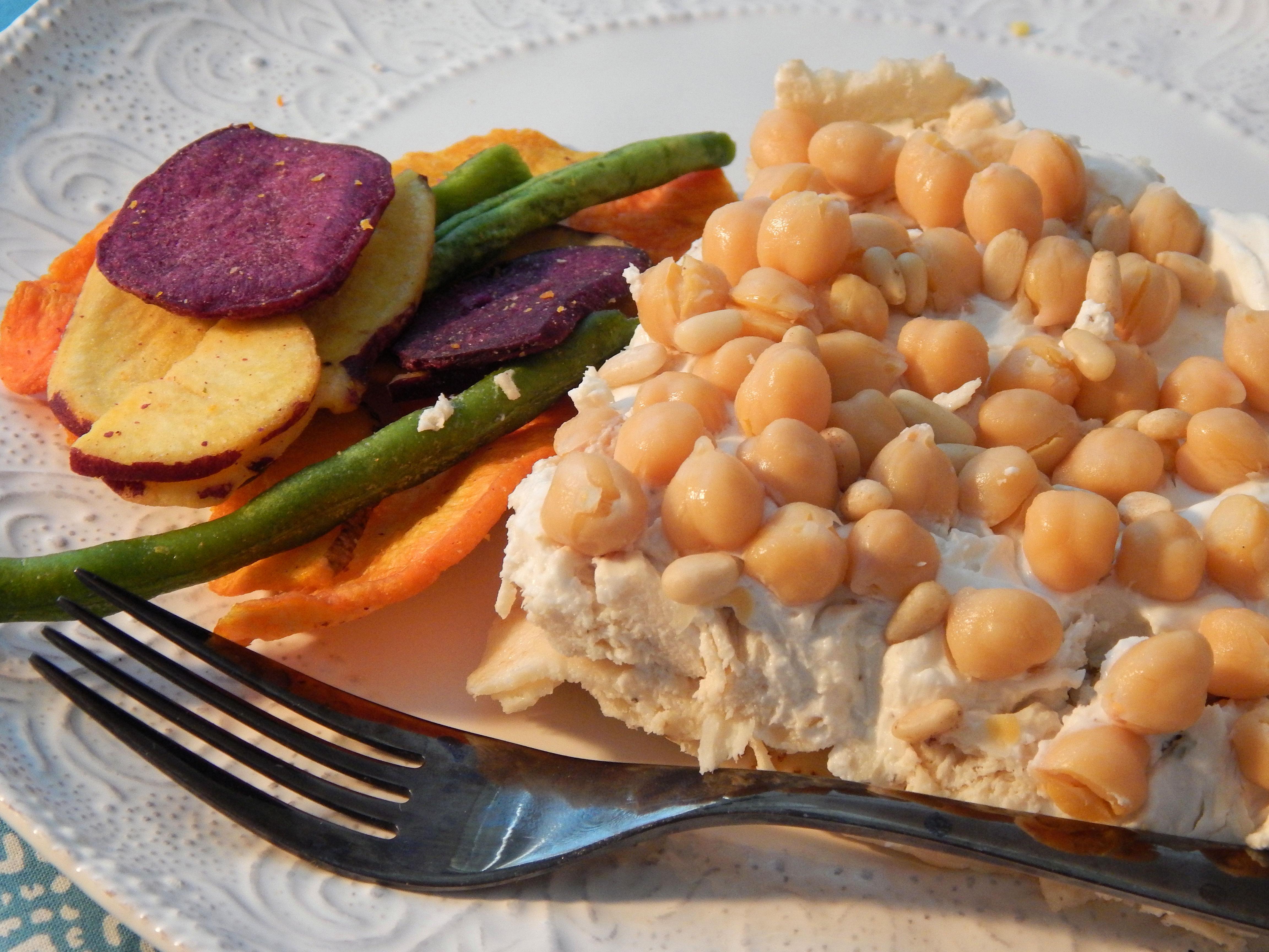 Chicken Pita and Yogurt Casserole Hala