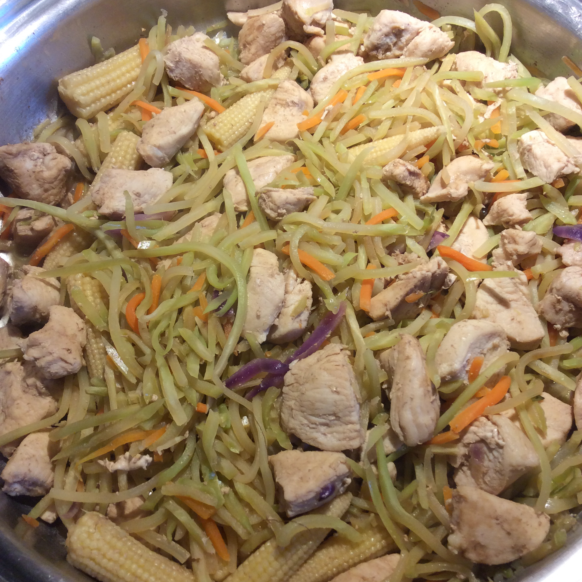 Thai Chicken Broccoli Slaw Shere