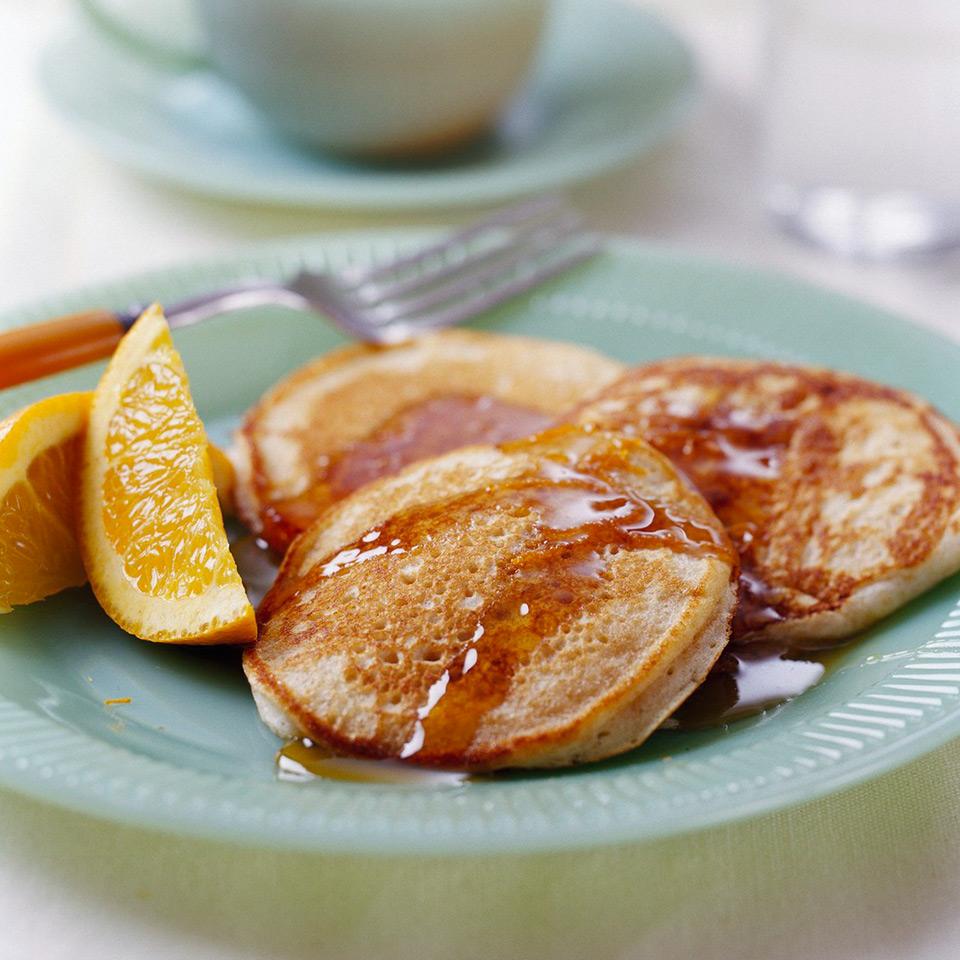 Fluffy Oat Bran Pancakes Diabetic Living Magazine