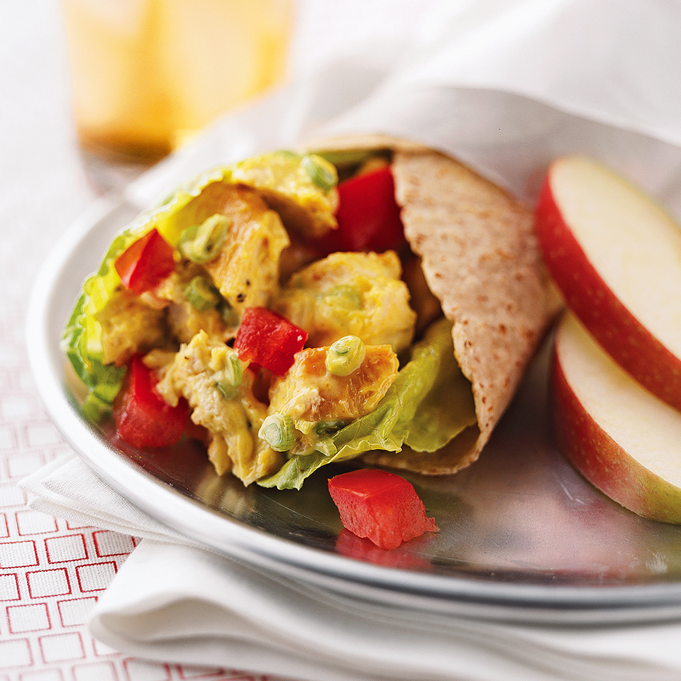 Curried Chicken Salad Wraps Diabetic Living Magazine