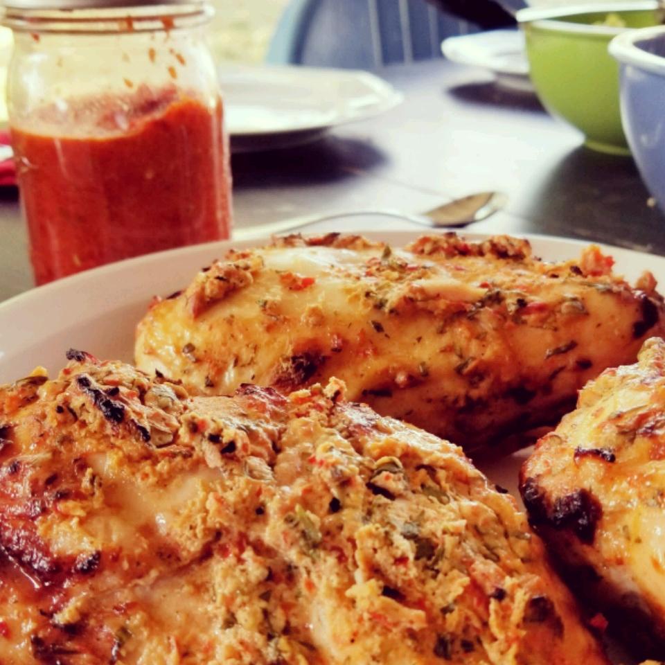 Spicy Tarragon Yogurt Chicken Sandra Bonel