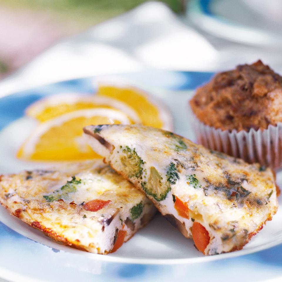 Vegetable Frittata Diabetic Living Magazine
