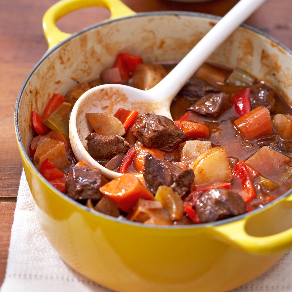 Three-Pepper Beef Stew Diabetic Living Magazine
