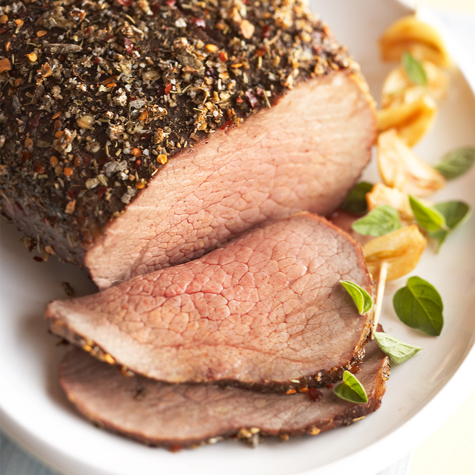Herb-Pepper Rubbed Beef Diabetic Living Magazine