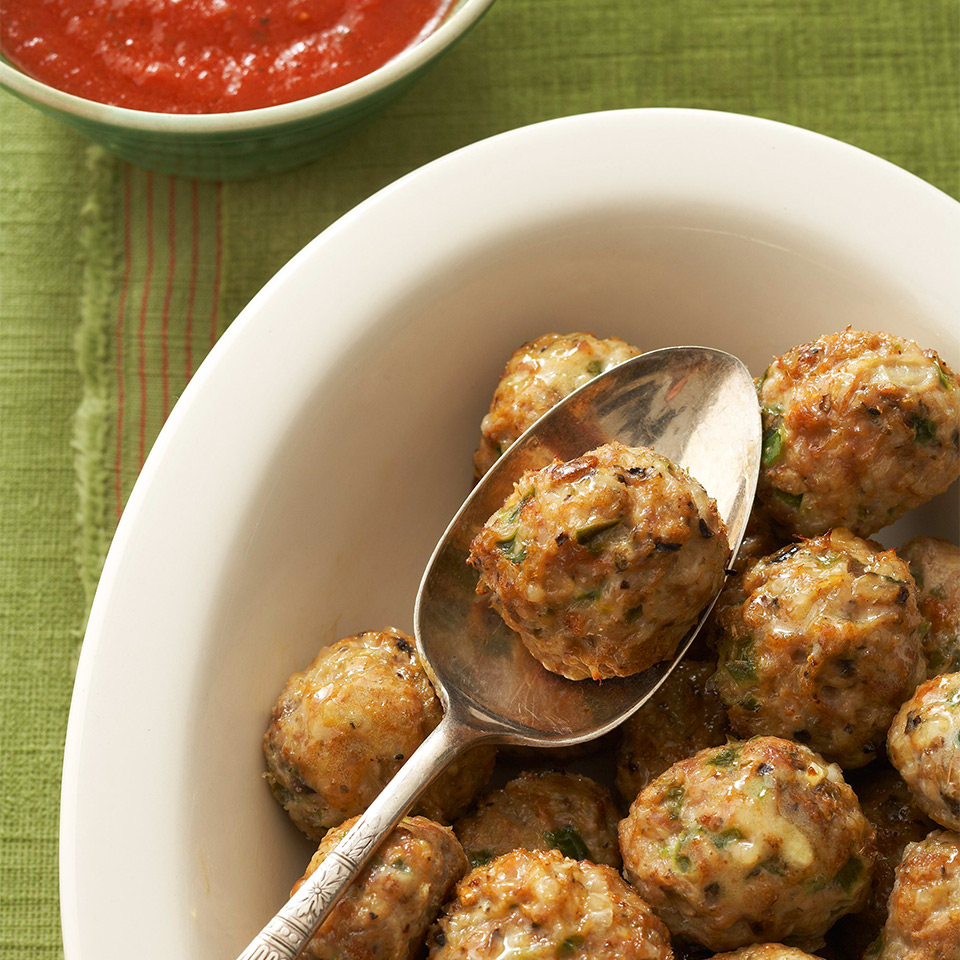Pizza Meatballs Diabetic Living Magazine