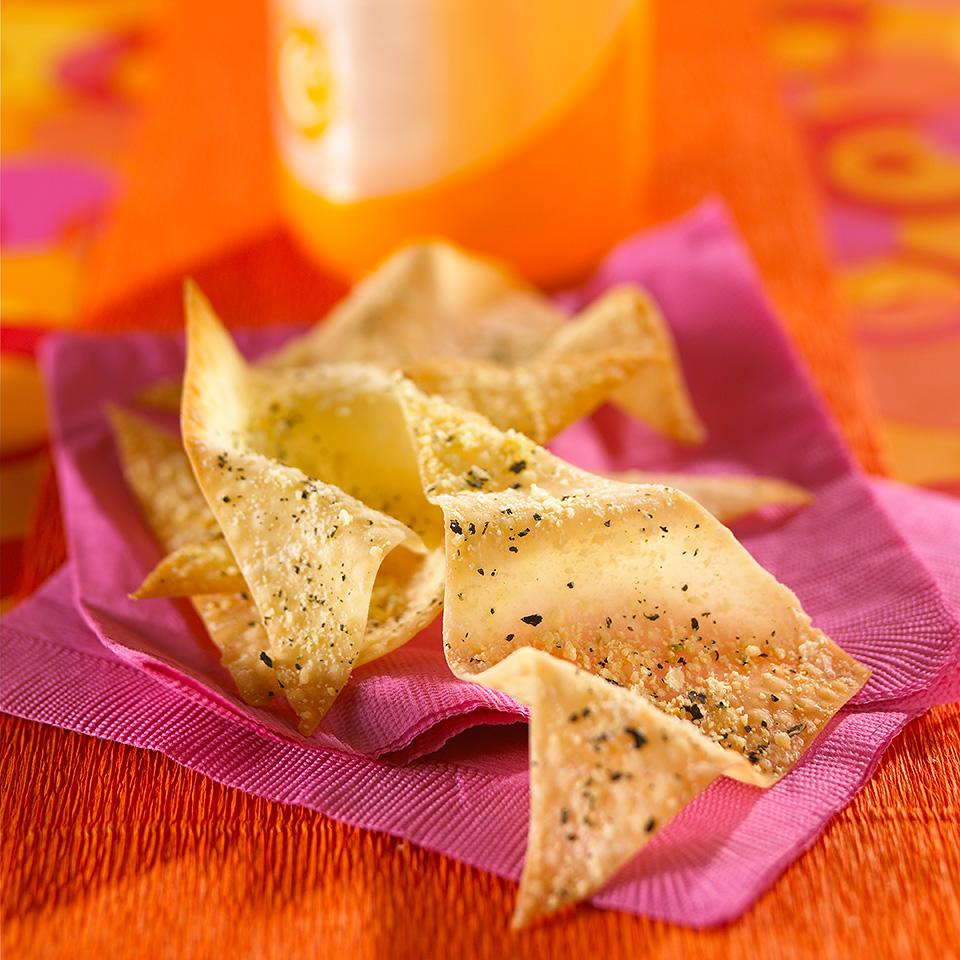 Crispy Cheese Chips Diabetic Living Magazine