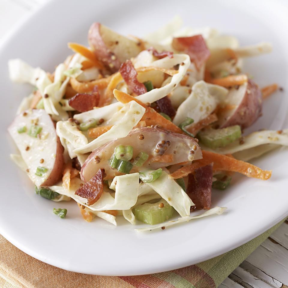 New Potato-Cabbage Salad Diabetic Living Magazine