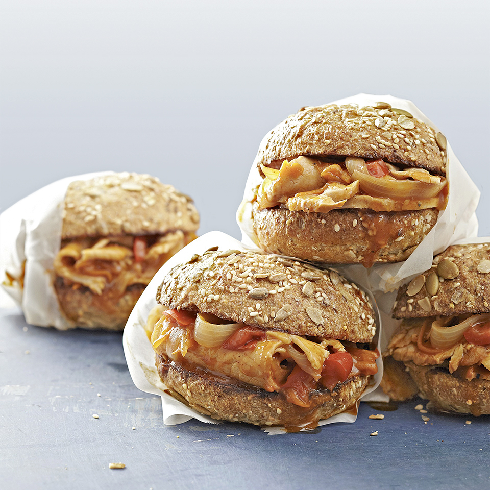 Pork Primavera Sandwiches Diabetic Living Magazine