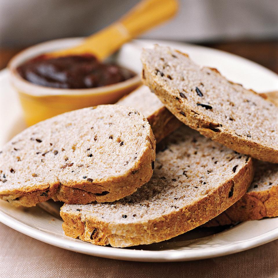 Wild Rice and Oat Bran Bread Diabetic Living Magazine