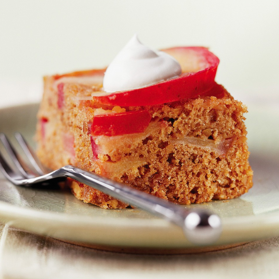 Apple-Pecan Upside-Down Cake Diabetic Living Magazine