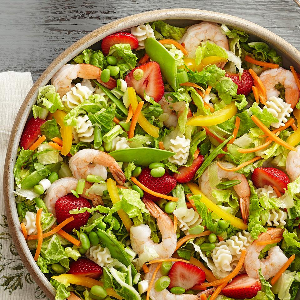Shrimp and Edamame Salad with Ginger Dressing Diabetic Living Magazine