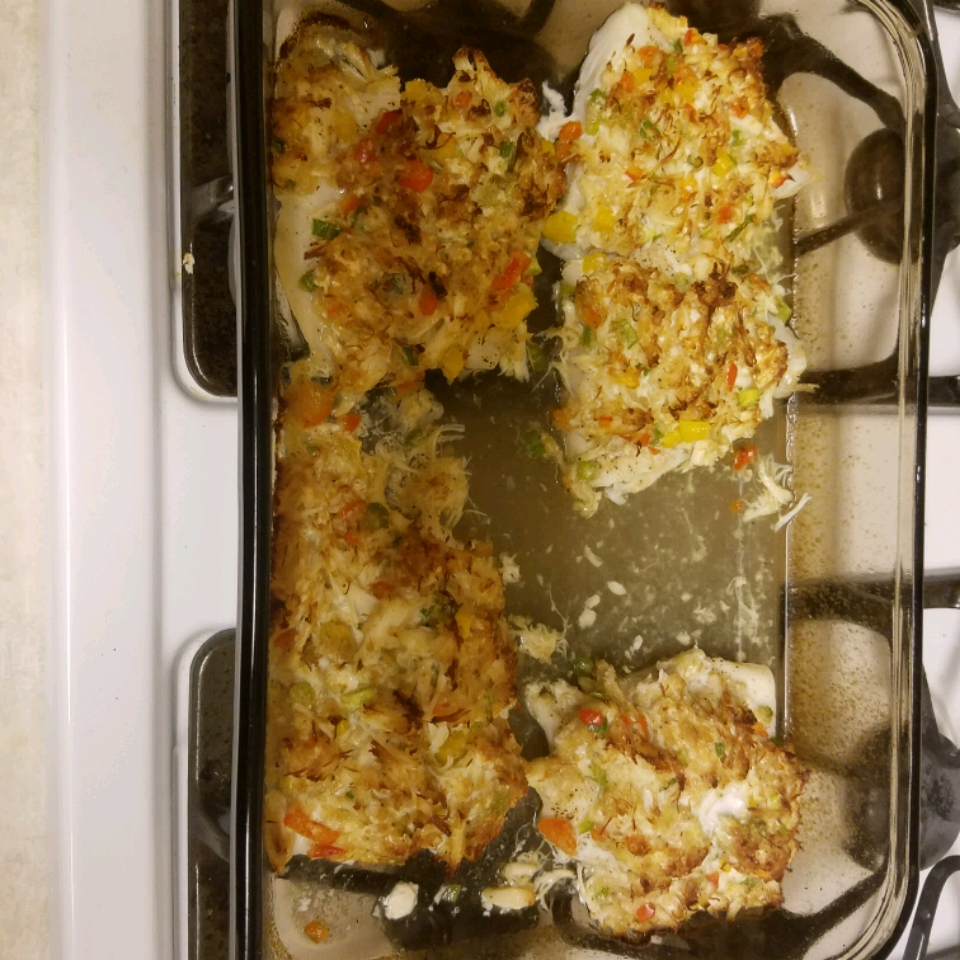 Crab Crusted Grouper TexasBoy