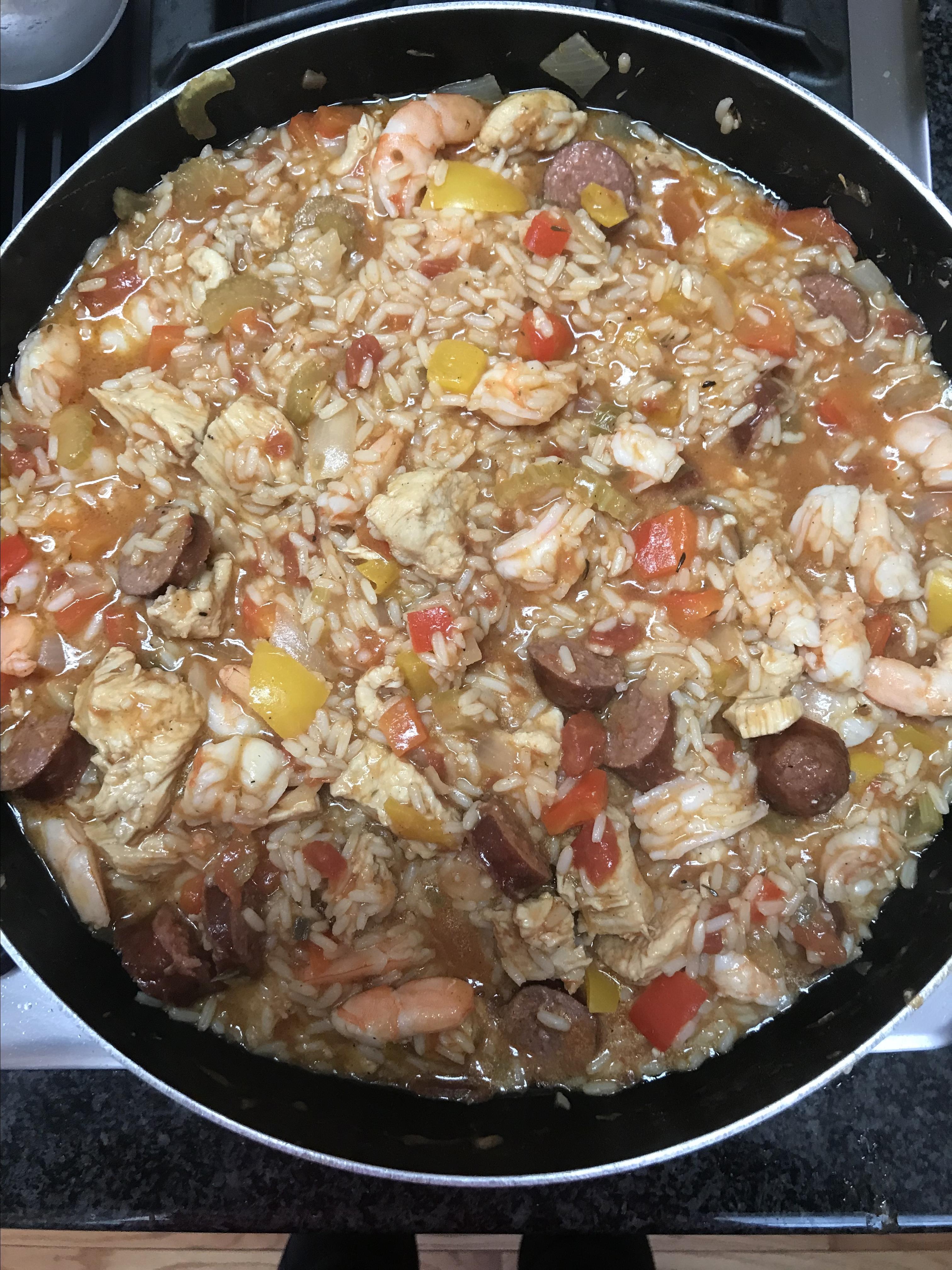Colleen's Slow Cooker Jambalaya Angela Laster