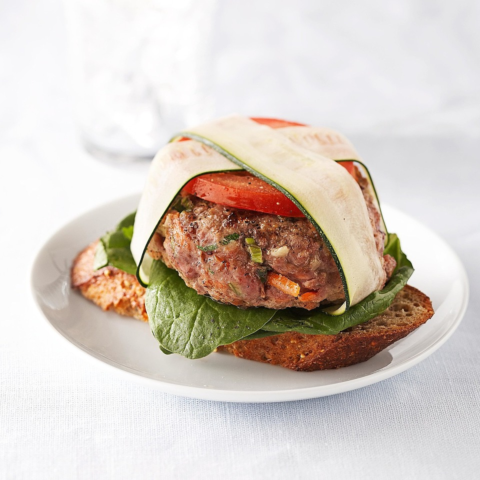 Grilled Garden Burgers Diabetic Living Magazine