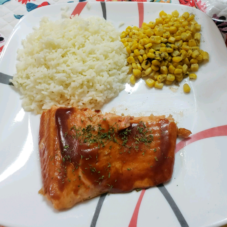 Barbequed Steelhead Trout