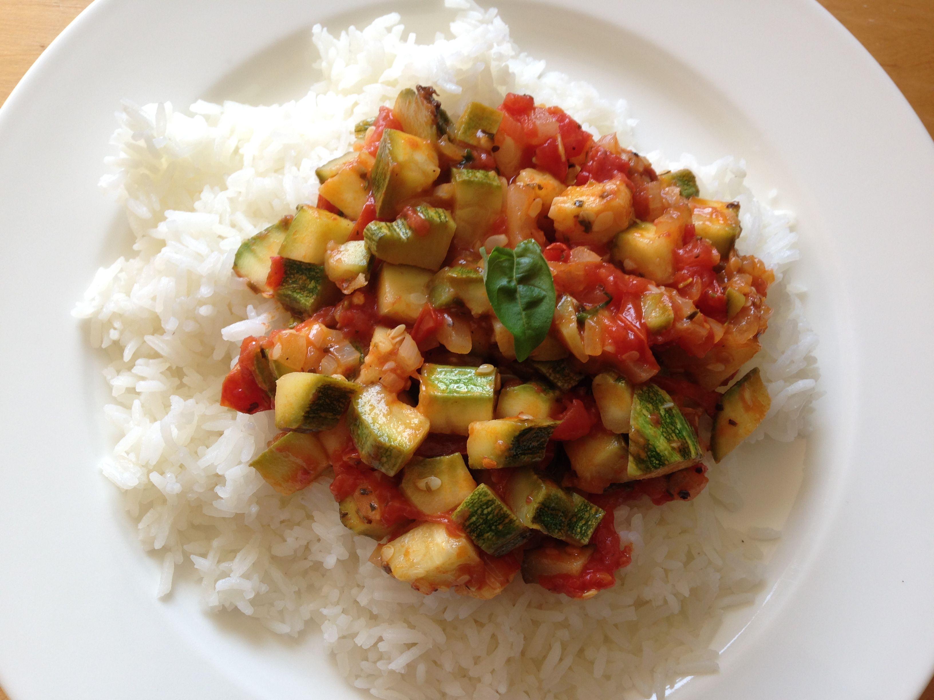 Easy Zucchini-Tomato Side Dish