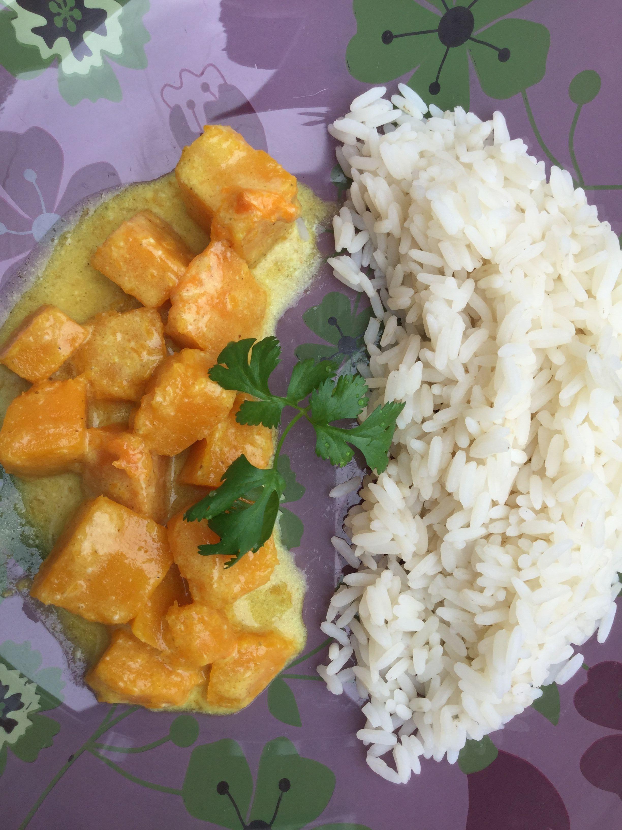 Vegan Butternut Curry