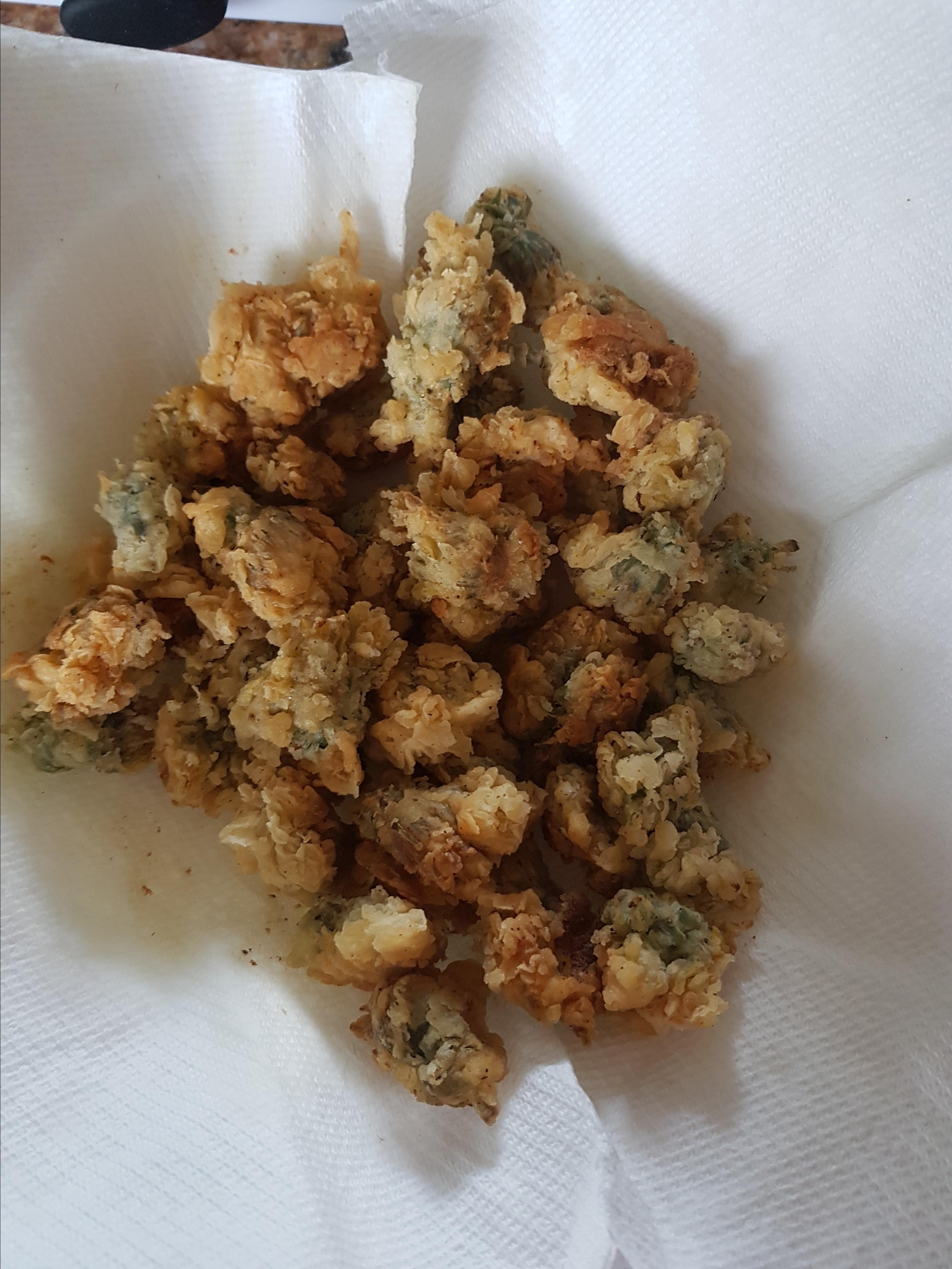 Fried Dandelions (Appalachian Style) Megs