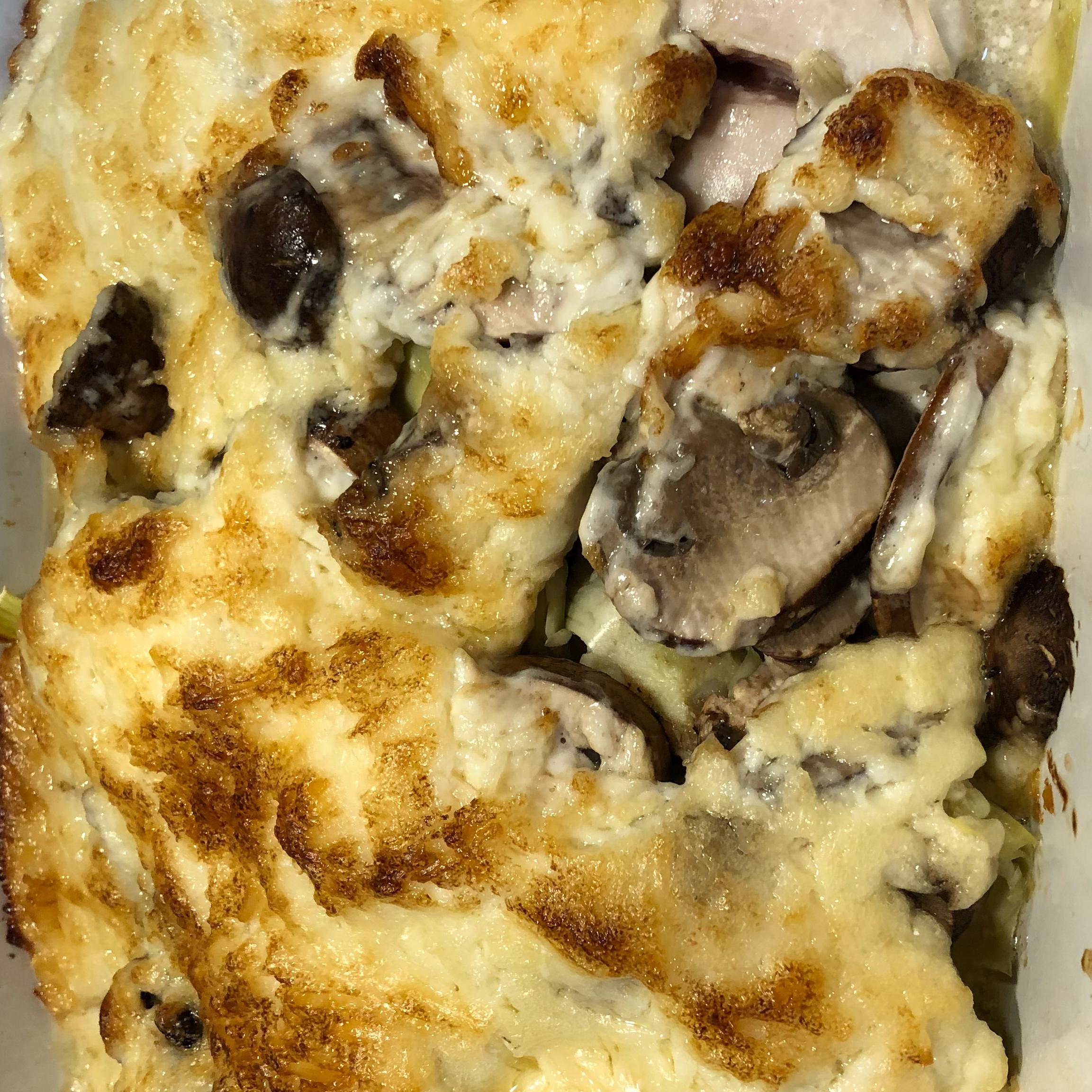 Artichoke Chicken Casserole