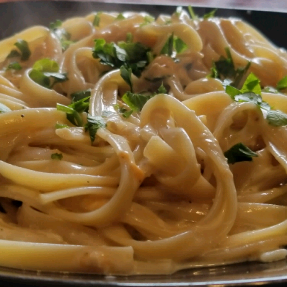 Lighter Chicken Fettuccine Alfredo Rob McPhee