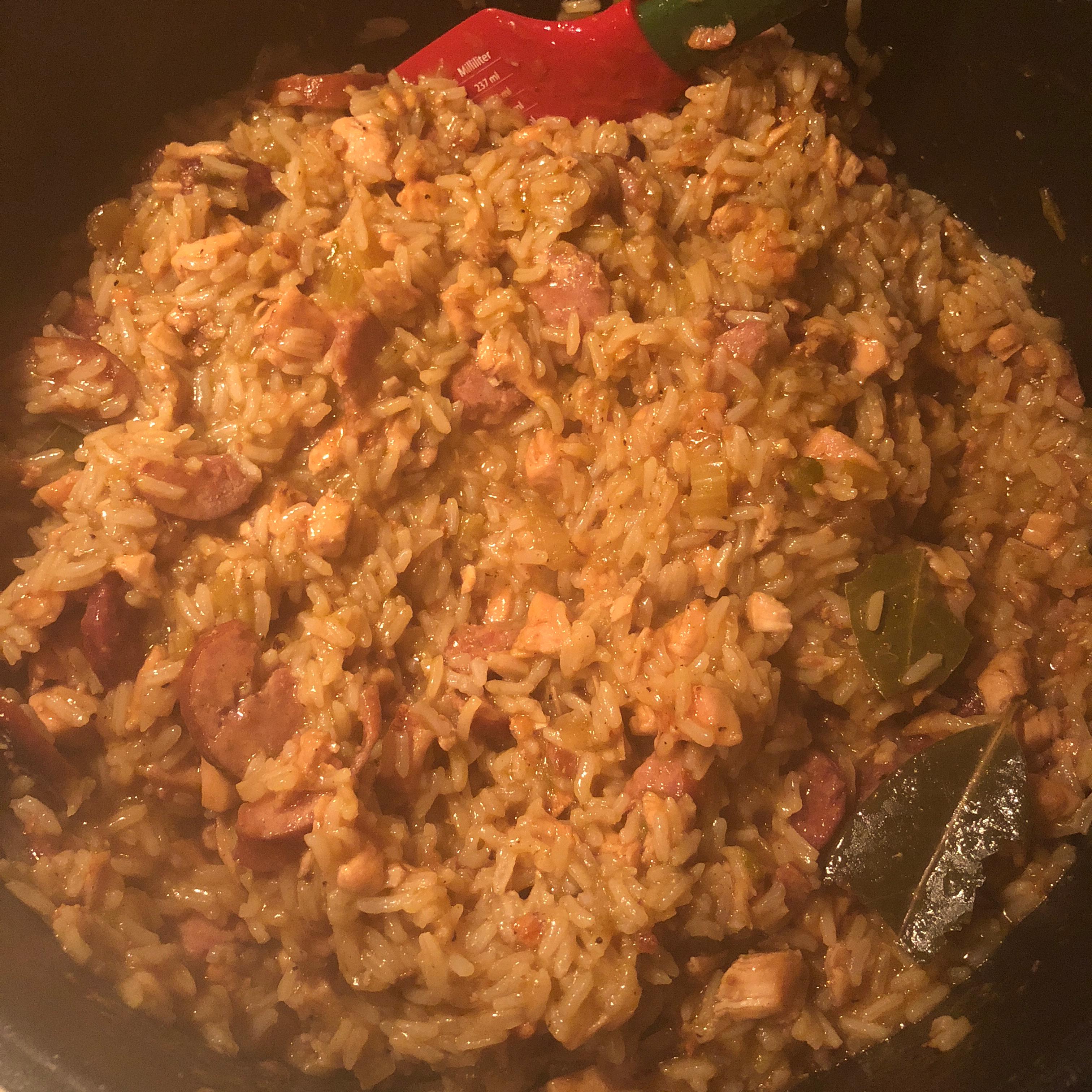 Easy Cajun Jambalaya