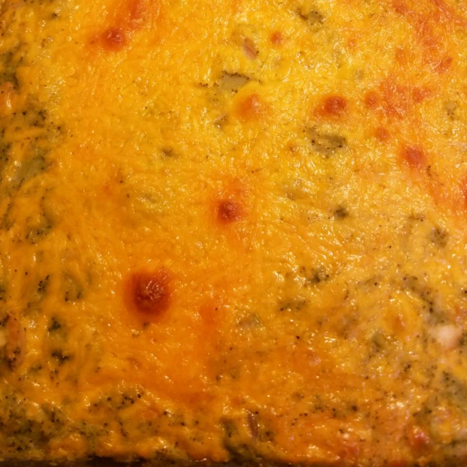 Creamy Broccoli and Cheese Casserole