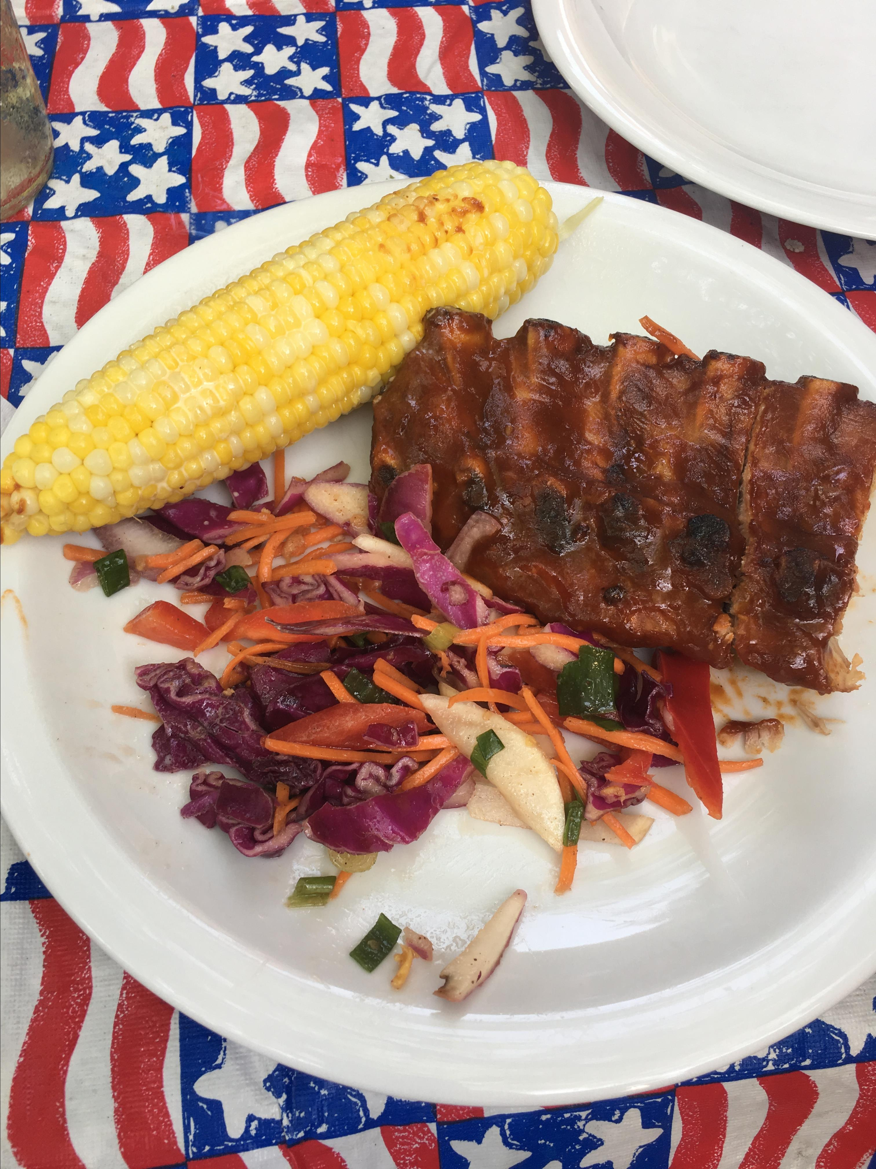 Southern Grilled Barbecued Ribs Cleveland Rocks