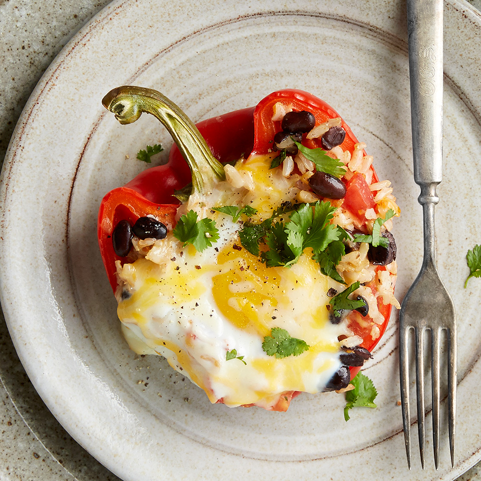 Breakfast Stuffed Peppers Diabetic Living Magazine