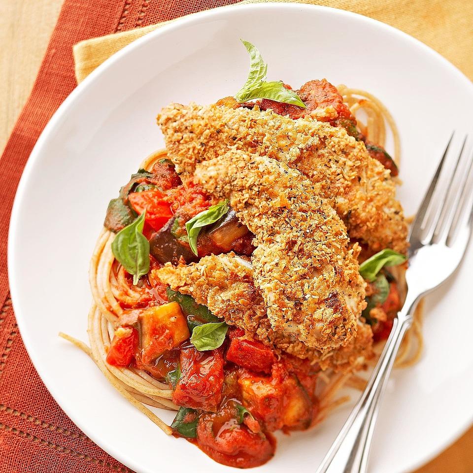 Crisp Chicken Parmesan Diabetic Living Magazine