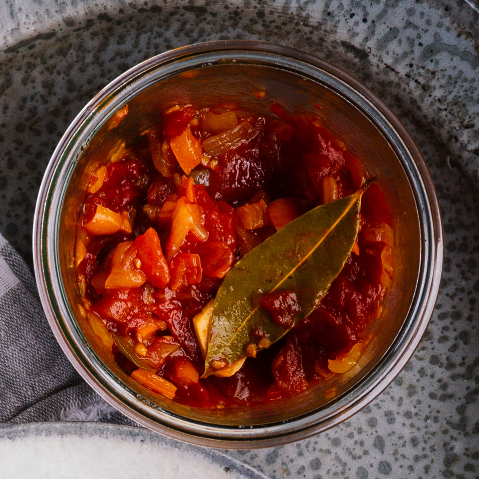 Tomato-Pepper Relish Vivian Howard
