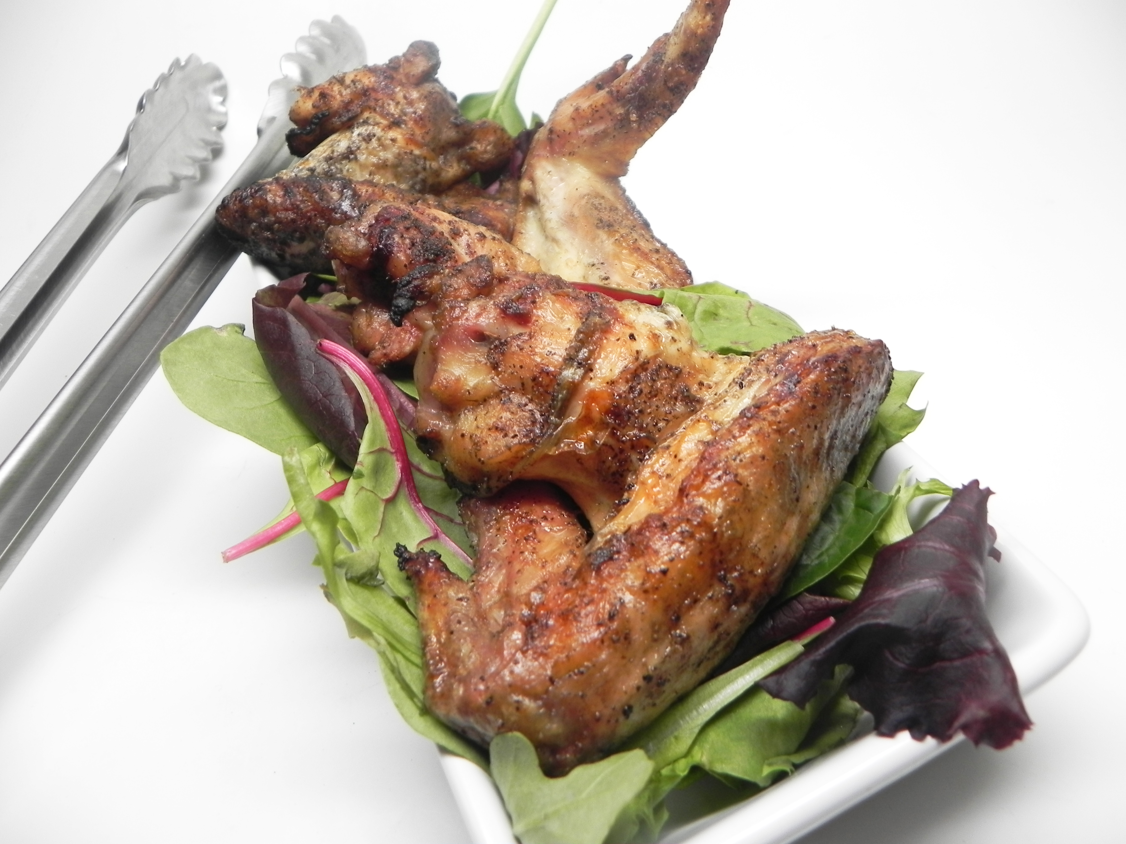 Easy Grilled Chicken Wings gingerb