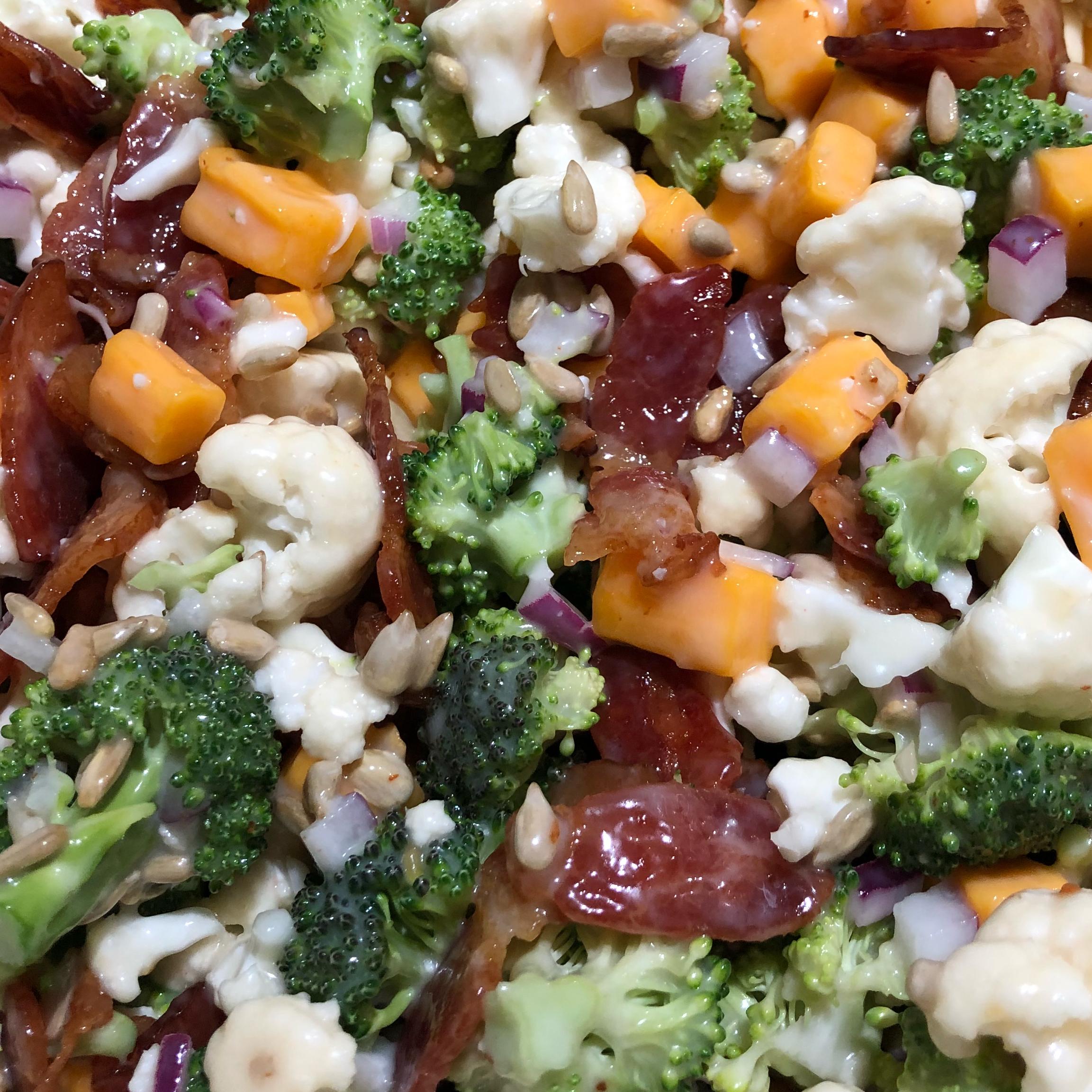 Bop's Broccoli Cauliflower Salad Olivia22