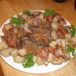 Beef Heart Braised in Wine AJaye2010