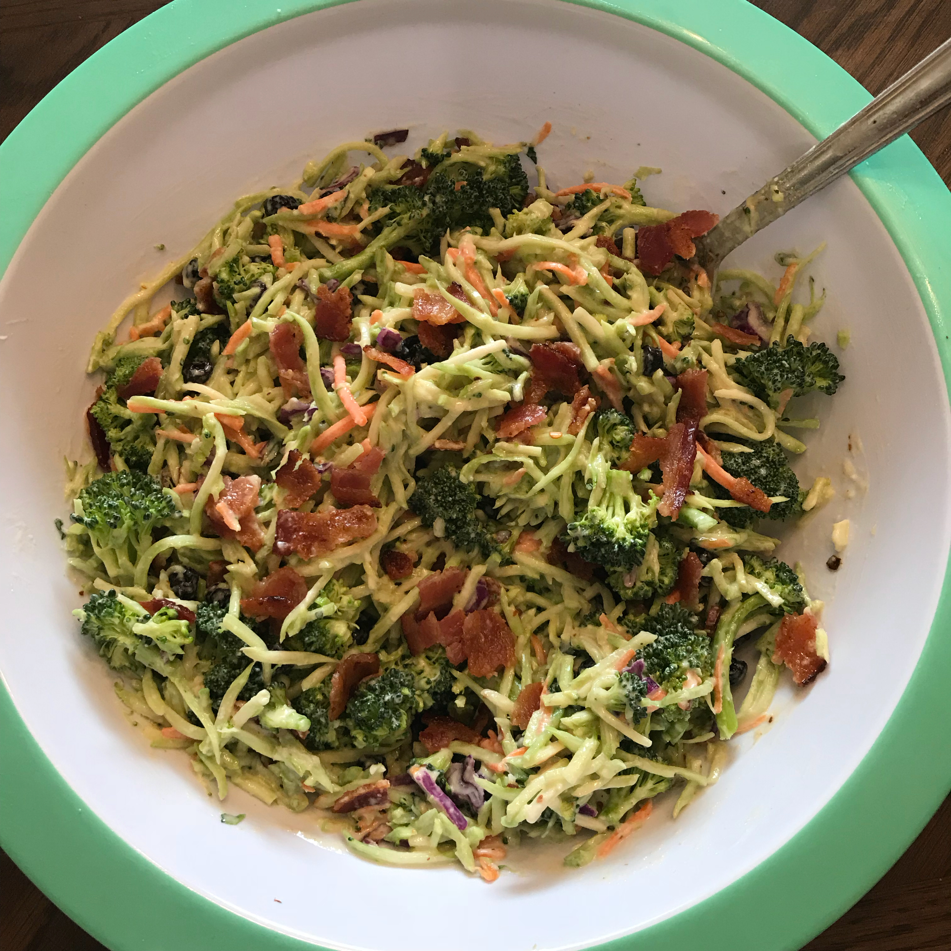Andrea's Broccoli Slaw Kiki