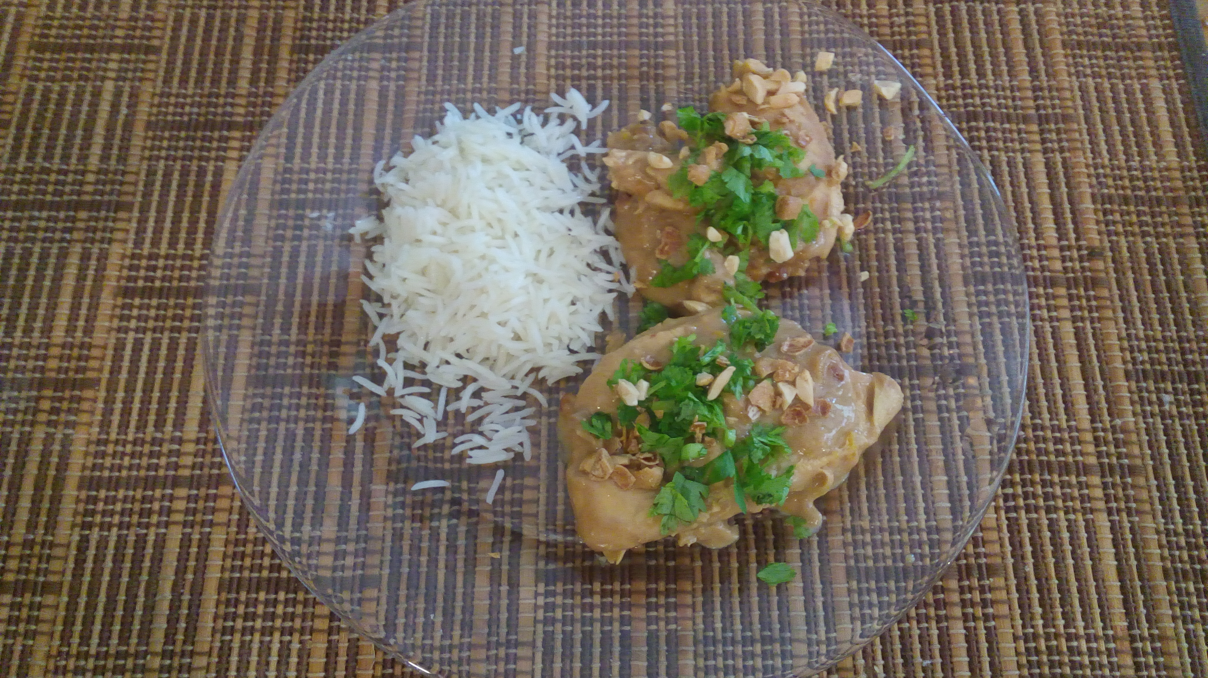 Frank's Favorite Slow-Cooker Thai Chicken
